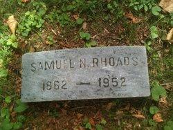 Samuel N Rhoads