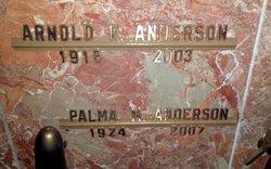 Arnold Ruben Anderson