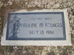 Pauline Agnes <I>Mercier</I> Folkers