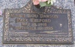 Minnie Lou <I>Dawson</I> Belford