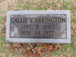 Callie <I>Young</I> Arrington