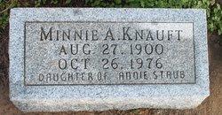 Minnie A Knauft
