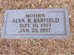 Alva <I>Boyd</I> Barfield