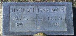 Jessie Belle <I>Williams</I> Bolin