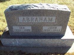 Ida Sophia <I>Legler</I> Abraham