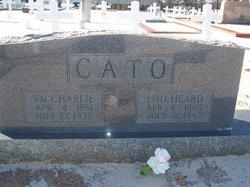"Lucella Fledora ""Lou"" <I>Heard</I> Cato"
