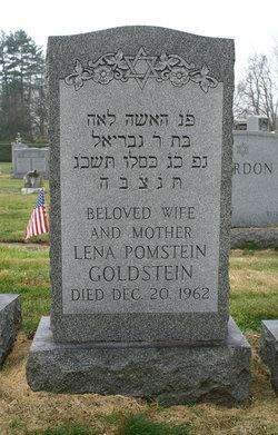 Lena M <I>Petluck</I> Pomstein-Goldstein
