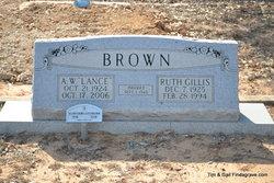 "Alanson Wesley ""Lance"" Brown"