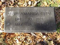 Susie Amanda <I>Arnold</I> Clem