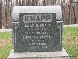 Lucretia <I>Jewell</I> Knapp