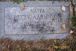 Betty Aaronson