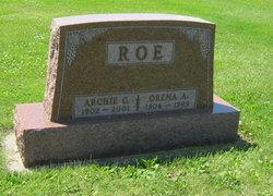 Orena Amanda <I>Dahle</I> Roe