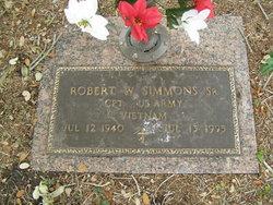Robert W Simmons, Sr