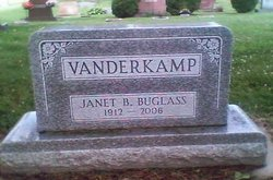 Janet Beatrice <I>Buglass</I> Vander Kamp
