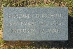 Margaret <I>Hannon</I> Bagwell