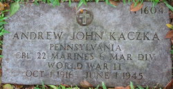 Corp Andrew John Kaczka