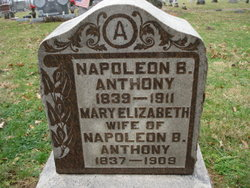 Mary Elizabeth <I>Engle</I> Anthony