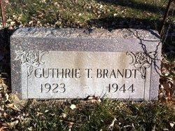 """Guthrie Taylor """"Gus"""" Brandt"""