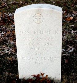 Josephine K Berndt