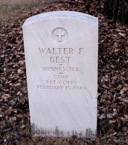Corp Walter Fayette Best