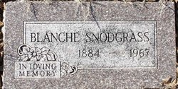 Blanche Mabel <I>Bookless</I> Snodgrass