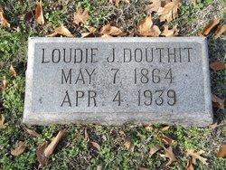 Loudie <I>Jackson</I> Douthit