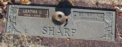 Leatha L <I>Robinson</I> Sharp