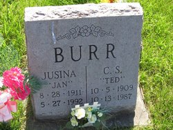 "C. S. ""Ted"" Burr"
