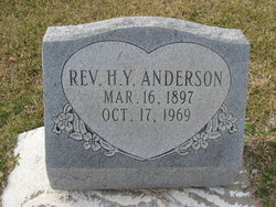Rev Henry Yale Anderson