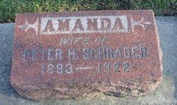 Amanda Alvina <I>Schultz</I> Schrader