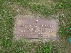 Martin A Geiszler
