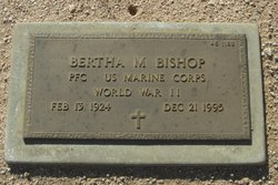 Bertha M Bishop