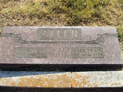 "Almeda ""Allie"" <I>Parrish</I> Allen"