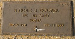 Harold J Cooper