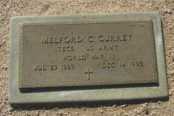 Melford C Currey