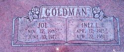 """Joseph """"Joe"""" Goldman"""