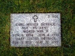 Carl Miller Detrick
