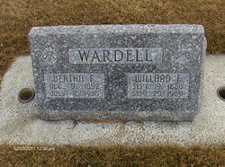 Willard Franklin Wardell