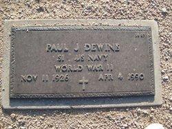 Paul J Dewine
