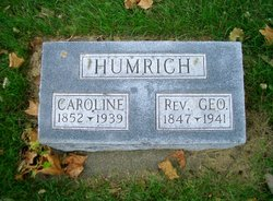 Caroline <I>Ball</I> Humrich
