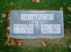 Rev George A Humrich