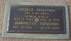 George Feinstein