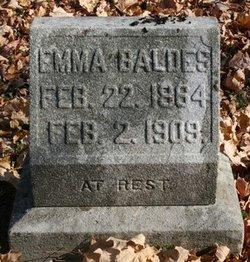 Emma <I>Etzel</I> Baldes