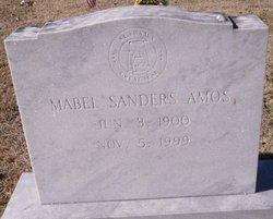 Mabel <I>Sanders</I> Amos
