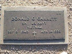 Donald G Garrett