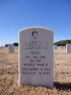 PFC Alberto F. Guerrero