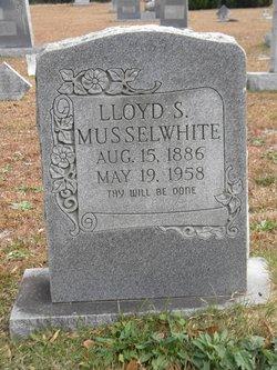 Lloyd S Musselwhite