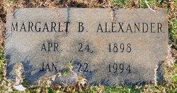 Margaret <I>Brice</I> Alexander