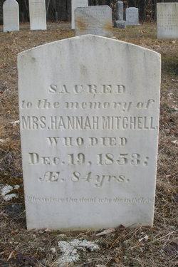 Mrs Hannah Mitchell