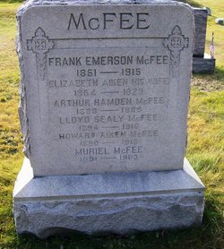 Elizabeth Rebecca <I>Aiken</I> McFee